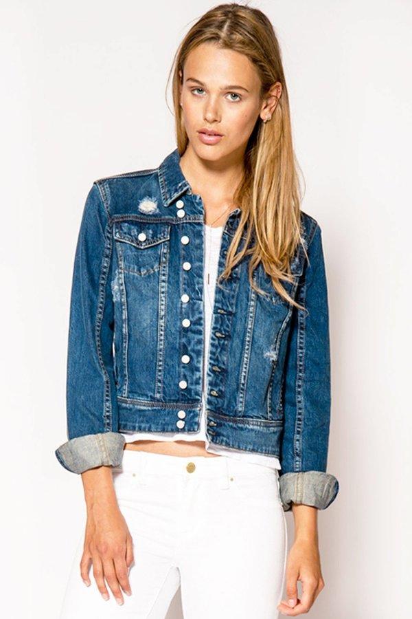 BLANK NYC Denim Jacket - Blue