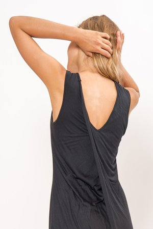 Primary New York Draped Back Dress