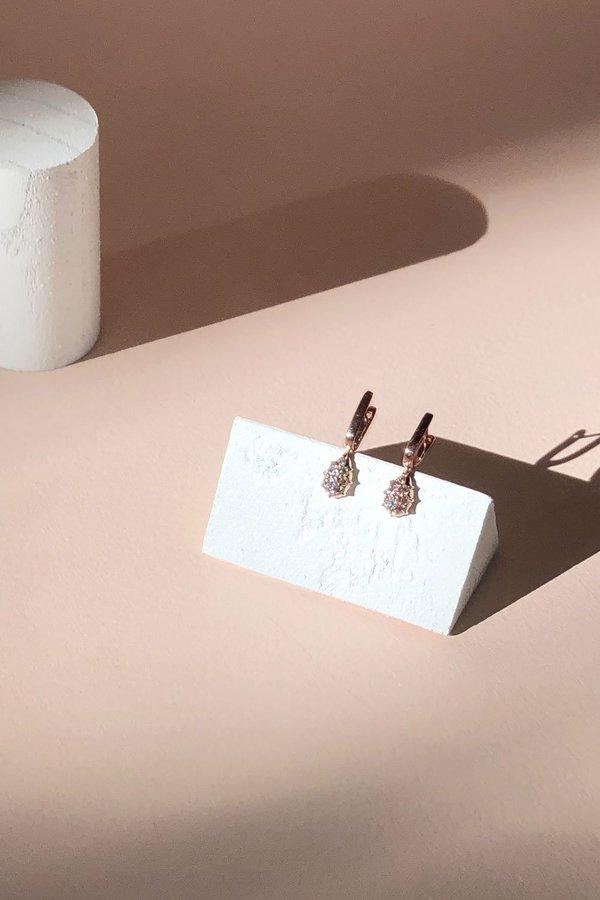 Carbon & Hyde Fantom Huggies Earrings