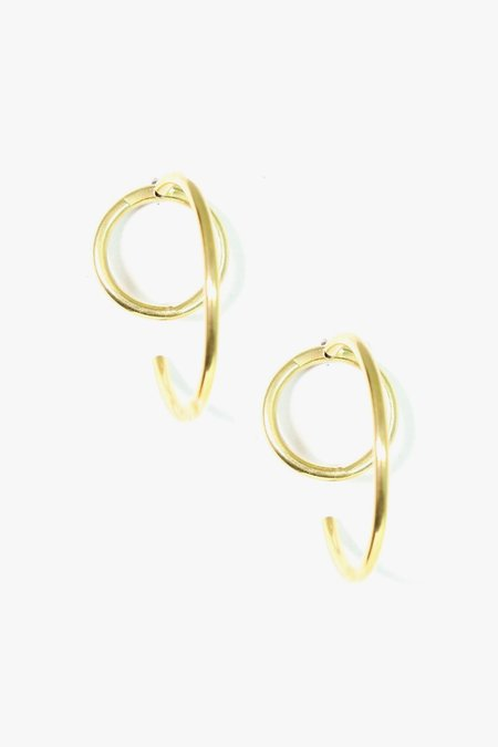 SOKO Globe Jacket Earrings - Gold