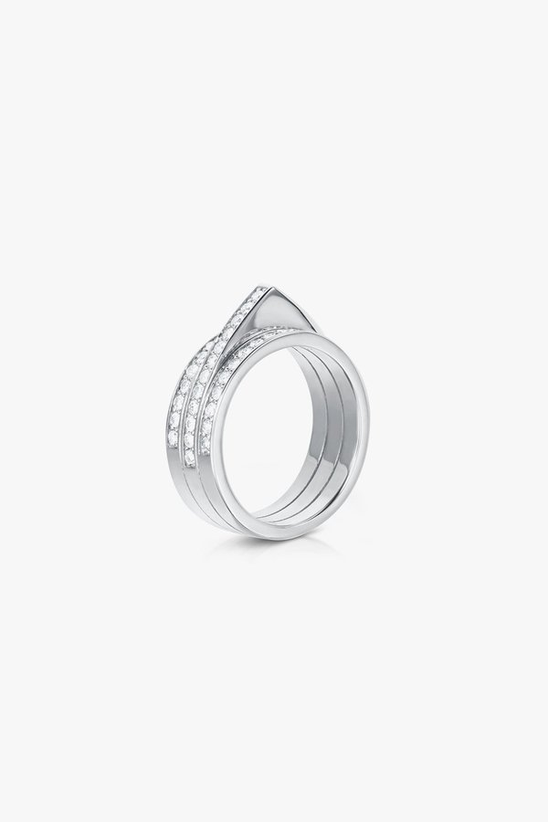 Carbon & Hyde Hourglass Ring