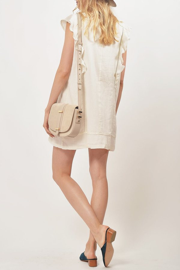 Primary New York Lan Ruffle Dress - Natural