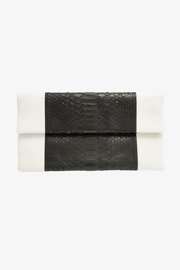 Primary New York Racer Clutch - black/white