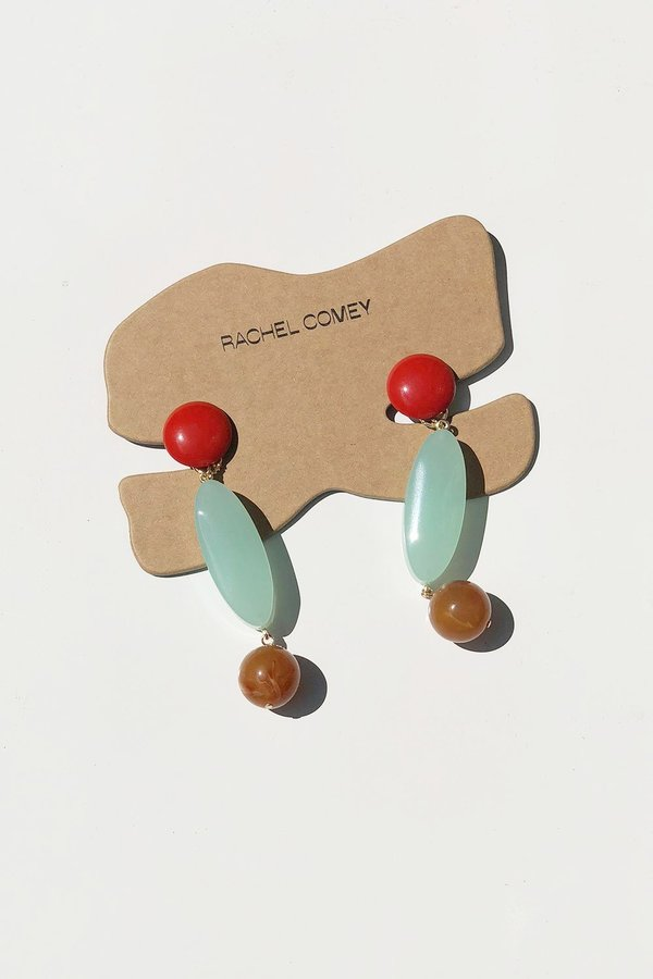 Rachel Comey Roundoff Earrings - Multi