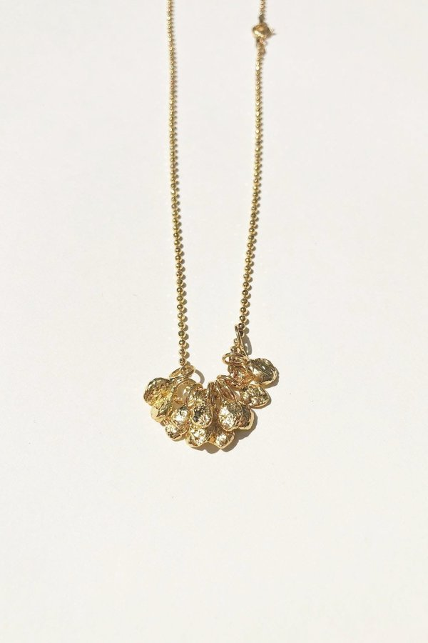 Pamela Card Serapis Necklace - Gold