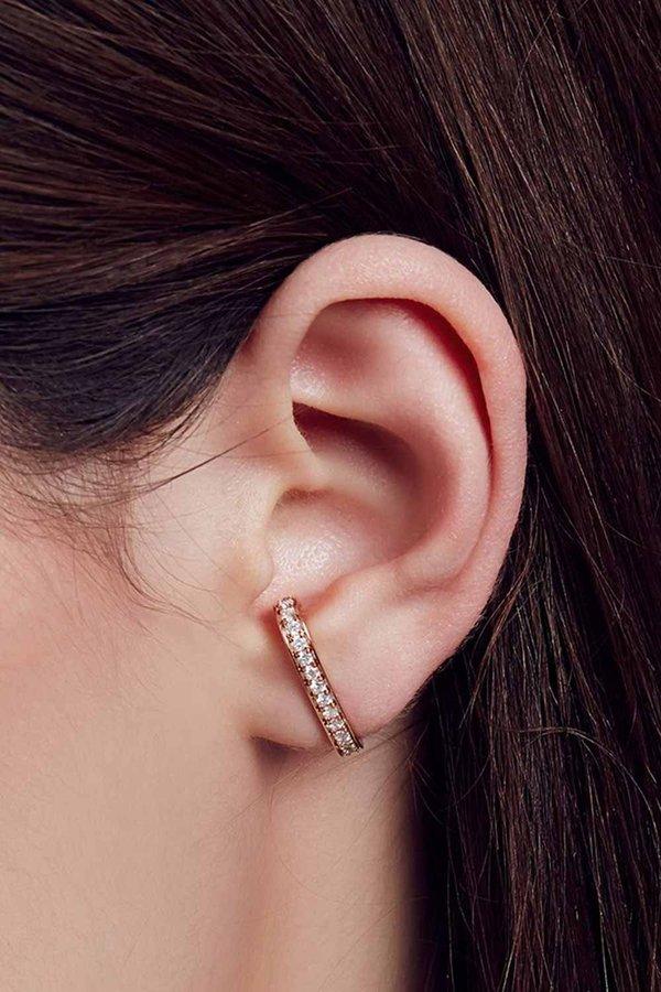 Carbon & Hyde Superhuggy Single Earring