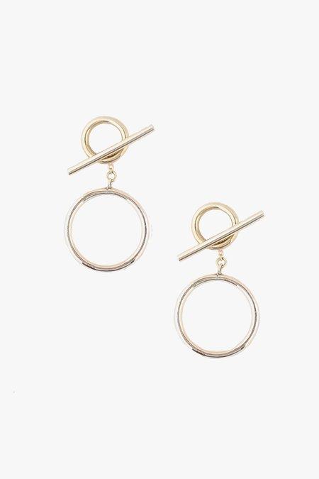 SOKO Taji Drop Earrings - Gold