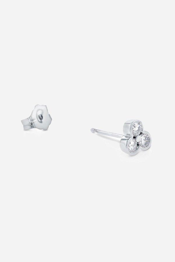 Carbon & Hyde Tri Stud Earrings