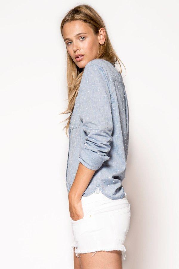 BLANK NYC Denim Shorts - White