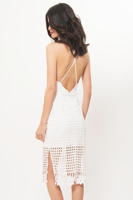 Elliat Lace Dress - White