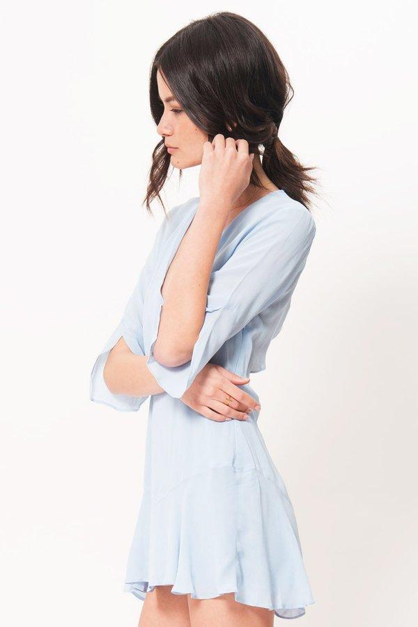 Pfeiffer Yolaine Mini Dress - Powder Blue