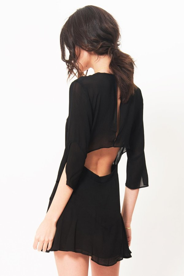 Pfeiffer Yolaine Mini Dress - Black