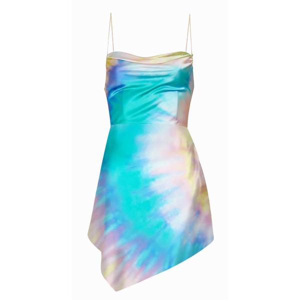 Retrofete Auris Dress - Multi Tie-Dye