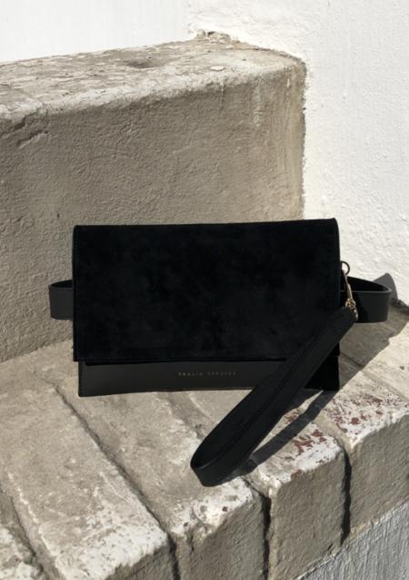 Thalia Strates Suede Mali Clutch/Belt Bag