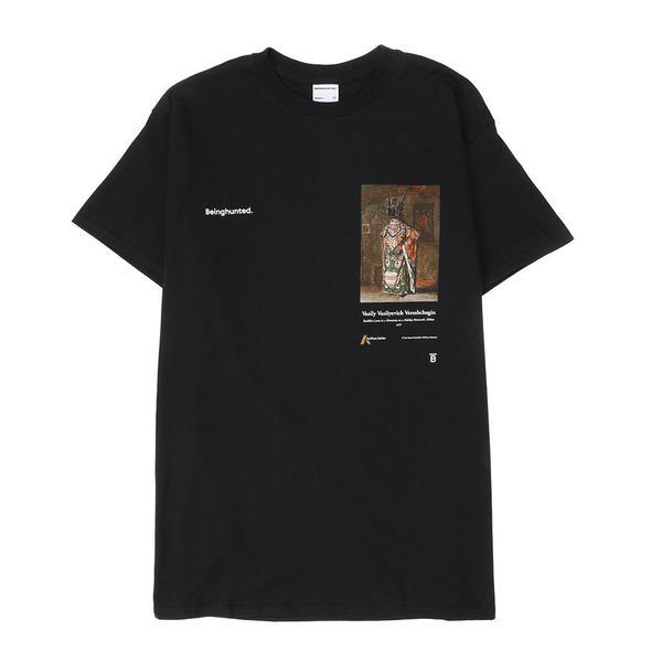 BEINGHUNTED. Vereshchagin 02 Lama on a Holiday T-shirt - Black