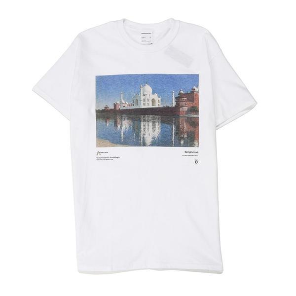 BEINGHUNTED. Vereshchagin 03 Taj Mahal T-shirt - White