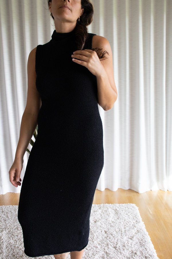 Mara Hoffman Rory Sweater Dress - Black