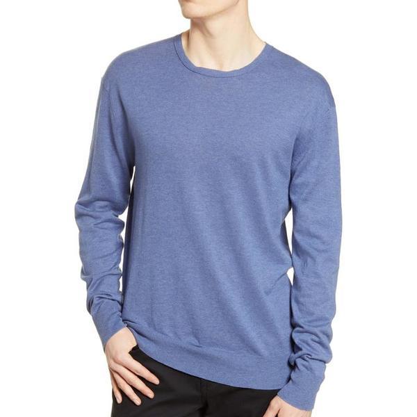 BLDWN Lesh Sweater - Worn Denim
