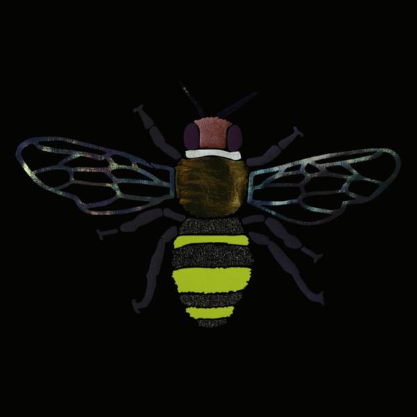LB2 STUDIO Bee Crop T-shirt
