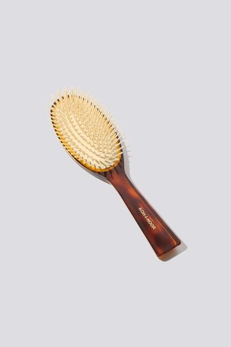 Koh-I-Noor Oval Hair Brush - Tortoise