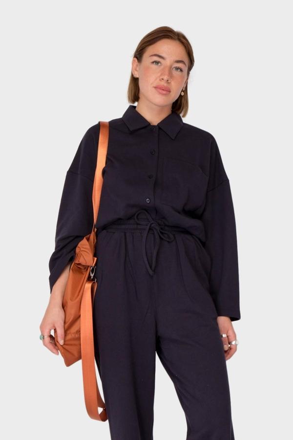 Can Pep Rey Maria Shirt - Dark Navy