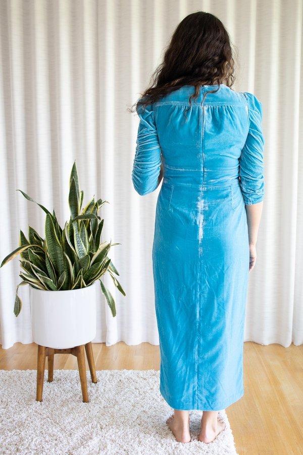 Rachel Antonoff Margaret Tea Dress - Cyan
