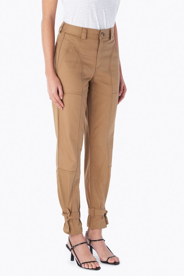 Trave Darcy Cinched Ankle Trouser - Blonde on Blonde