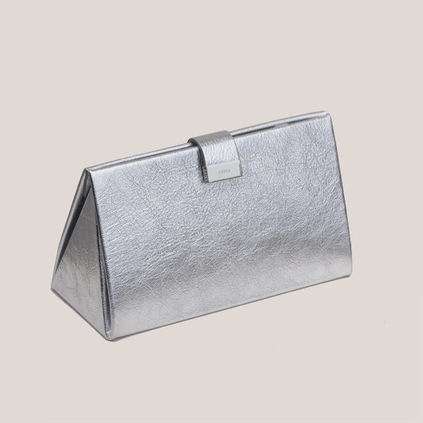 Medea Lay Low Bag - Silver