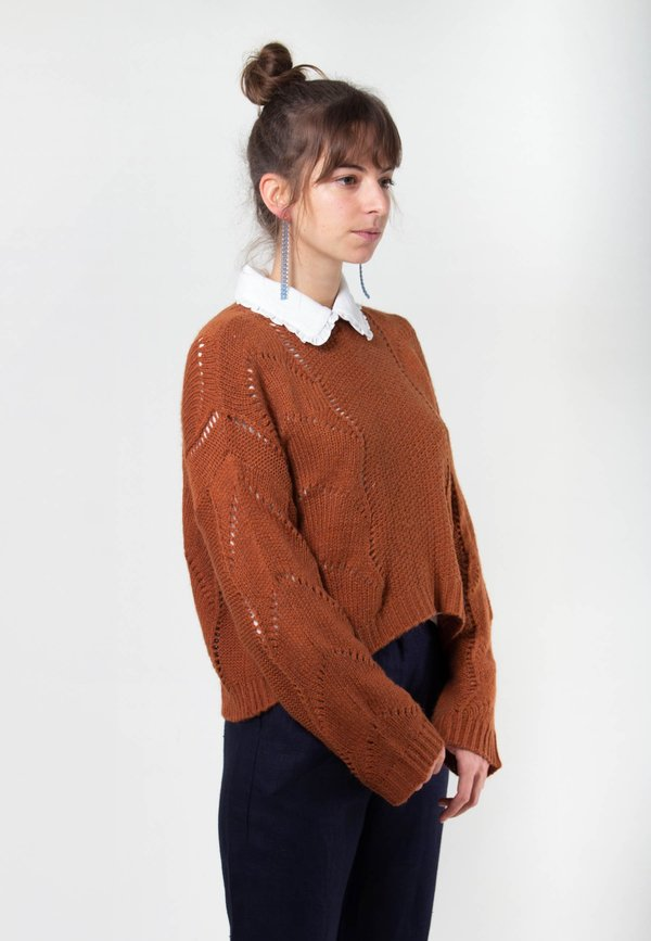 Native Youth Ellery Knit - Brown