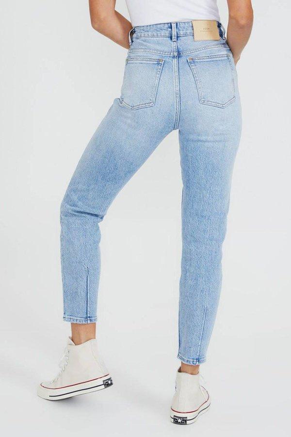 NEUW Lola Mom Jeans - Crawford Blue