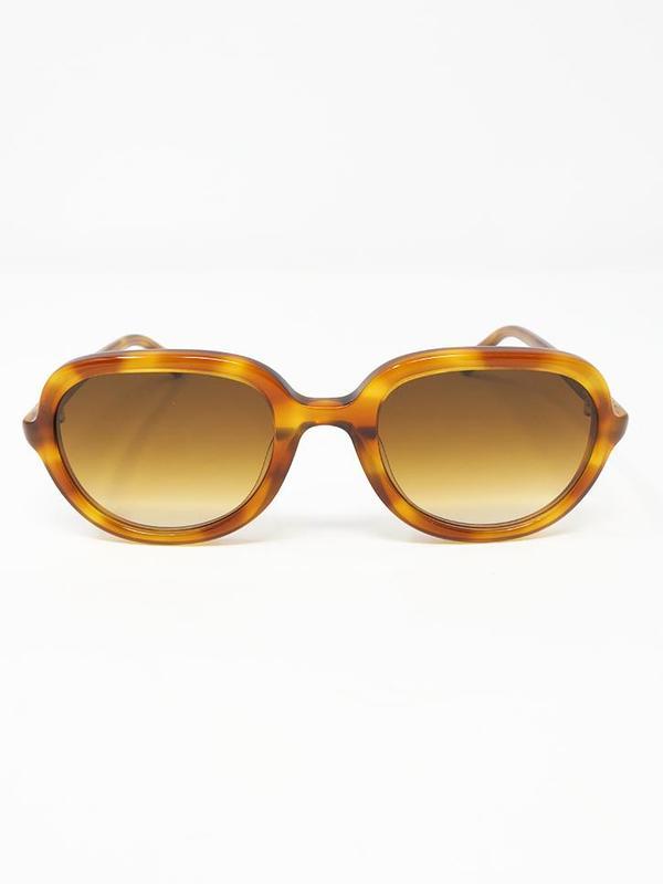 Chimi Aviator Sunglasses - Amber