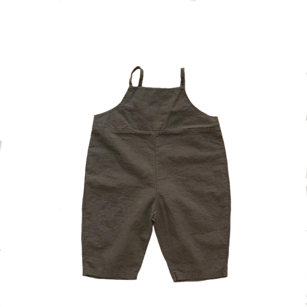 Kids Amore Hey Dungaree - Dark Gray