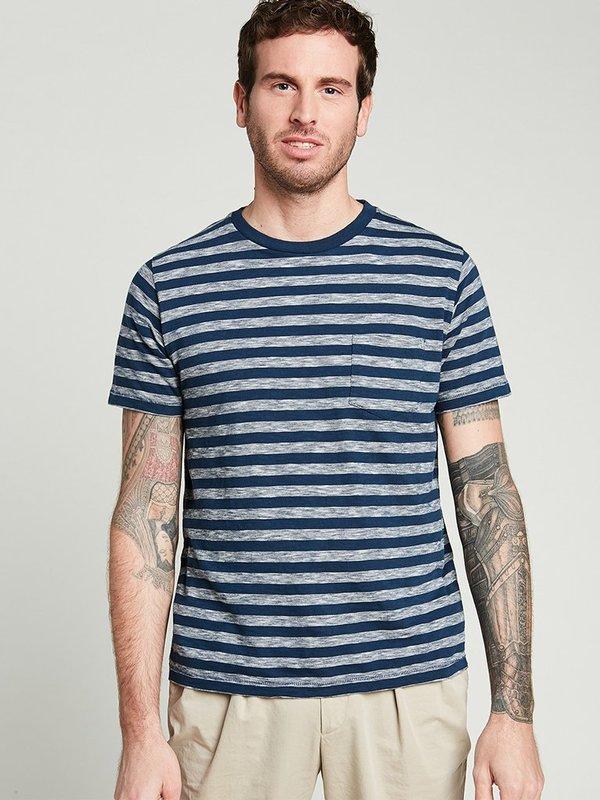 Hartford Crew T-Shirt - Indigo
