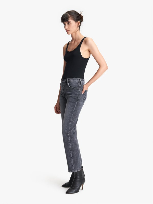 Mother Denim Saint Ankle Jeans - Midnight Races