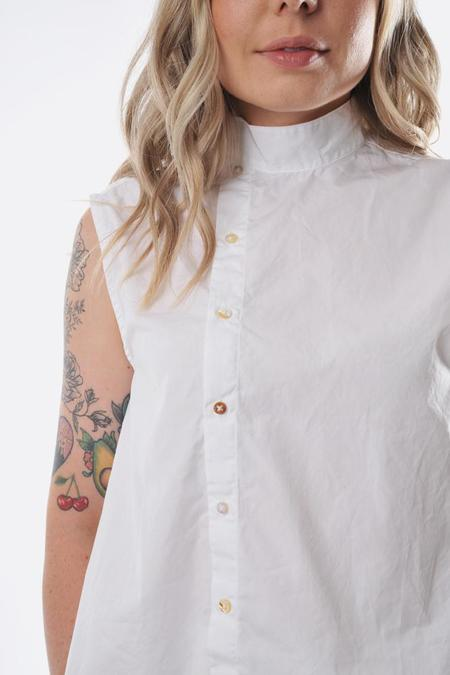 Pipsqueak Chapeau cropped crossover top - White