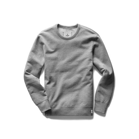 Reigning Champ Heavyweight Crewneck - Grey