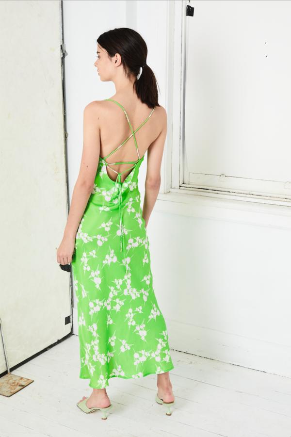 Third Form Rolling Fields Bias Slip Dress