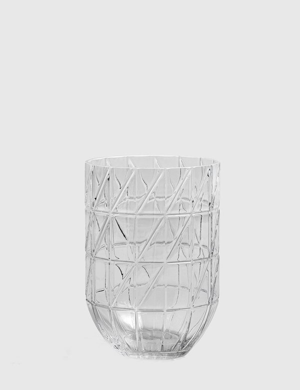Hay Large Colour Glass Vase - Clear