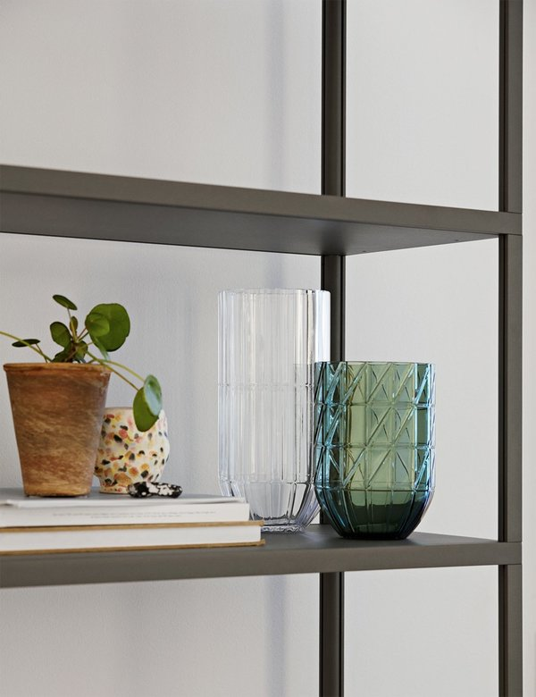 Hay X-Large Colour Glass Vase - Green