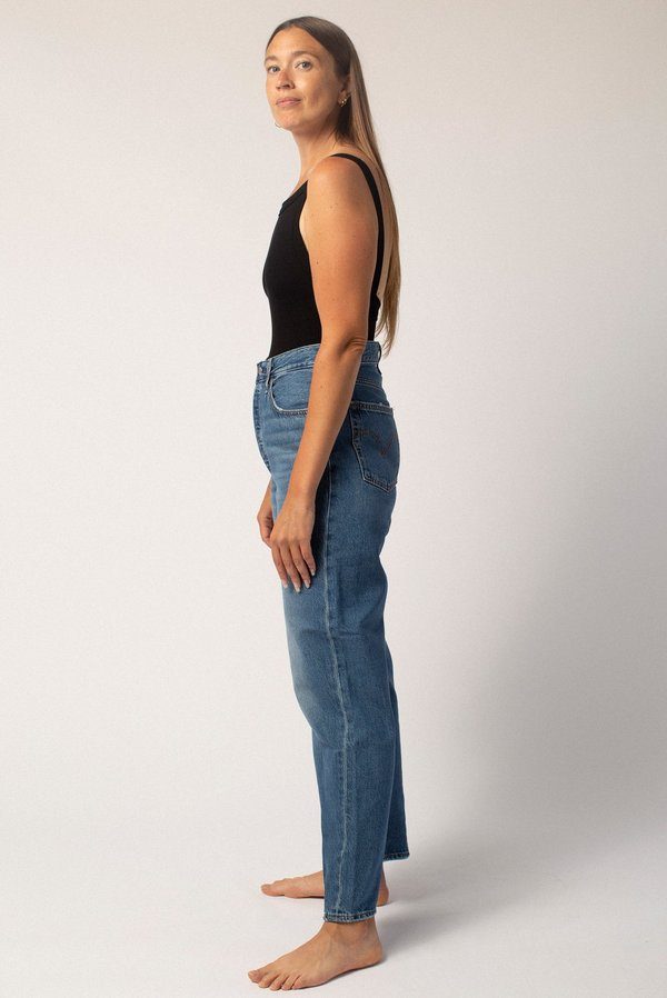 Levi's Ribcage Straight Ankle Jeans - At The Ready