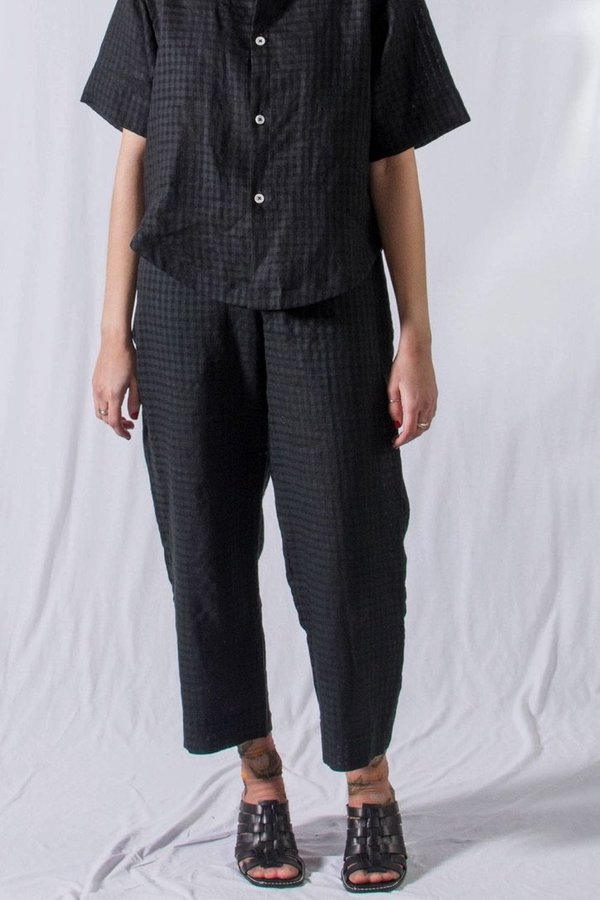 Unisex FAAN Slack Pants - Black Squares