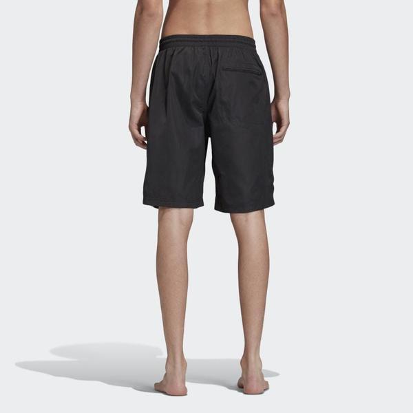 Adidas Y-3 Print Logo Swim Short - Black