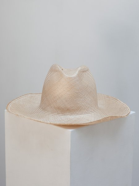 Reinhard Plank Boncia Raw Hat - Natural