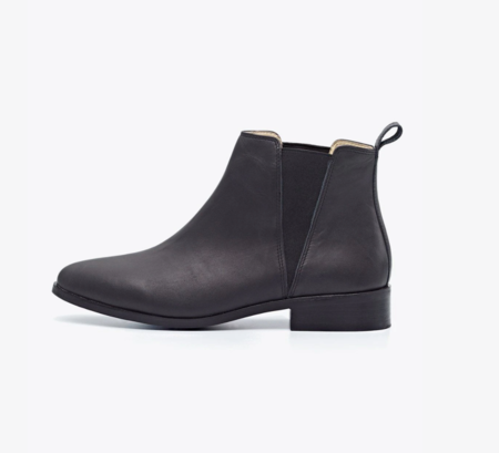 Nisolo Chelsea Boot - Black/Rubber
