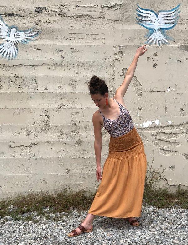 Paloma Wool Montoro Skirt - Nude