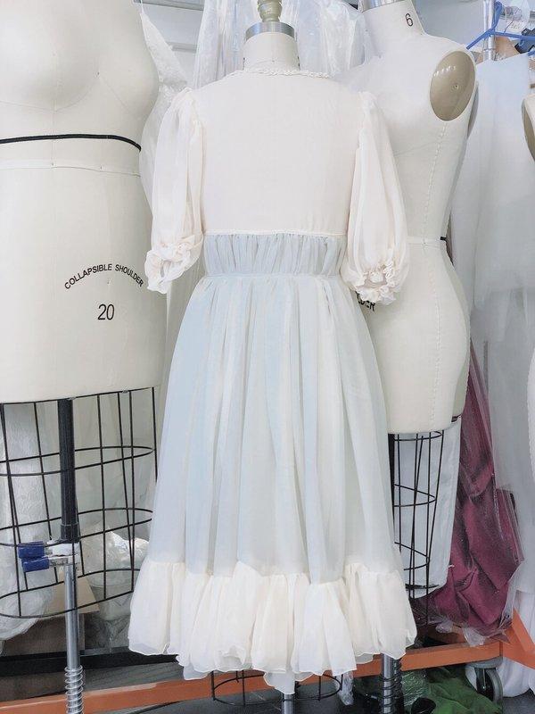 Petit Mioche Organic Silk Chiffon Dress