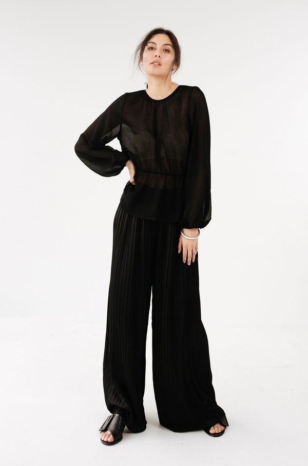 MARLE Nell Top - Black