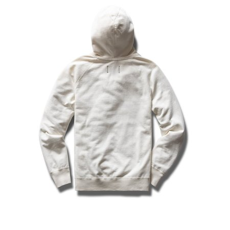 Reigning Champ RC Lightweight Terry PO Hoodie - Off White