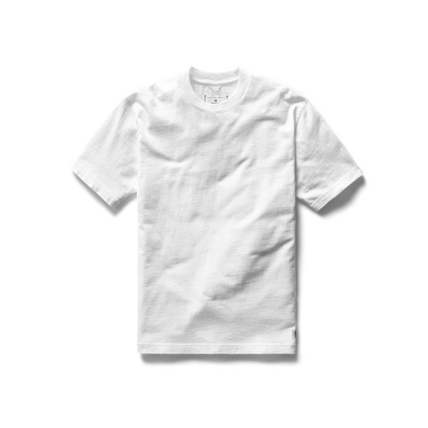 Reigning Champ RC Relaxed Midweight Jersey Tee - White