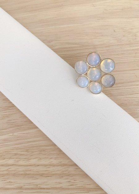 Katherine Parr Milky Daisy Ring